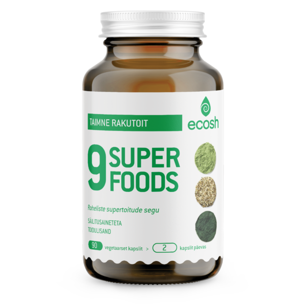 9 superfood transparent