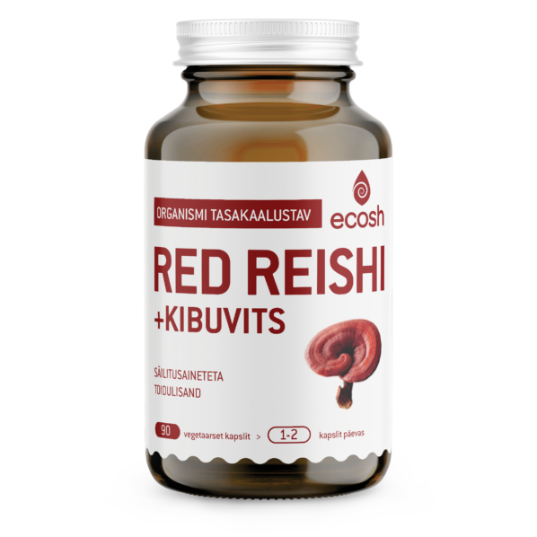 red reishi transparent