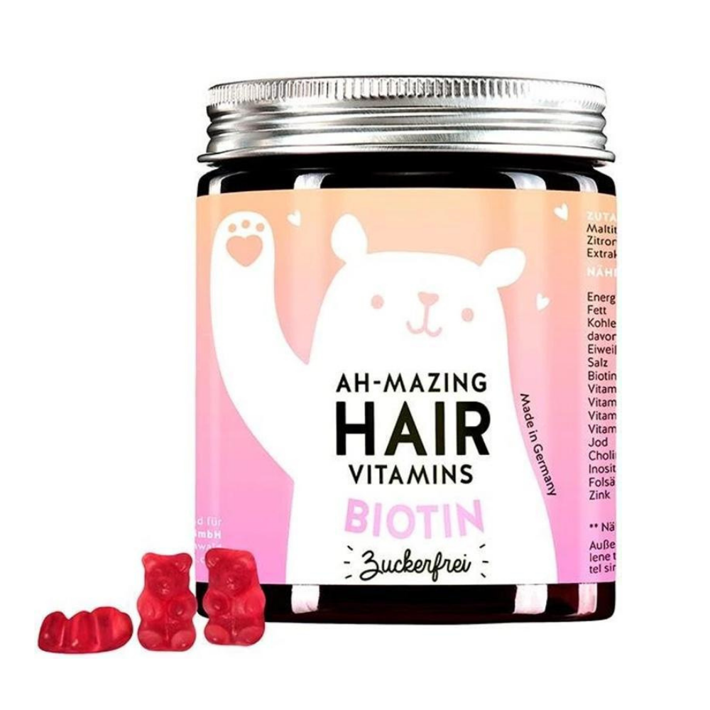 Bears with Benefits Ah mazing Hair Vitamins Biotiiniga suhkruvaba 150g oige