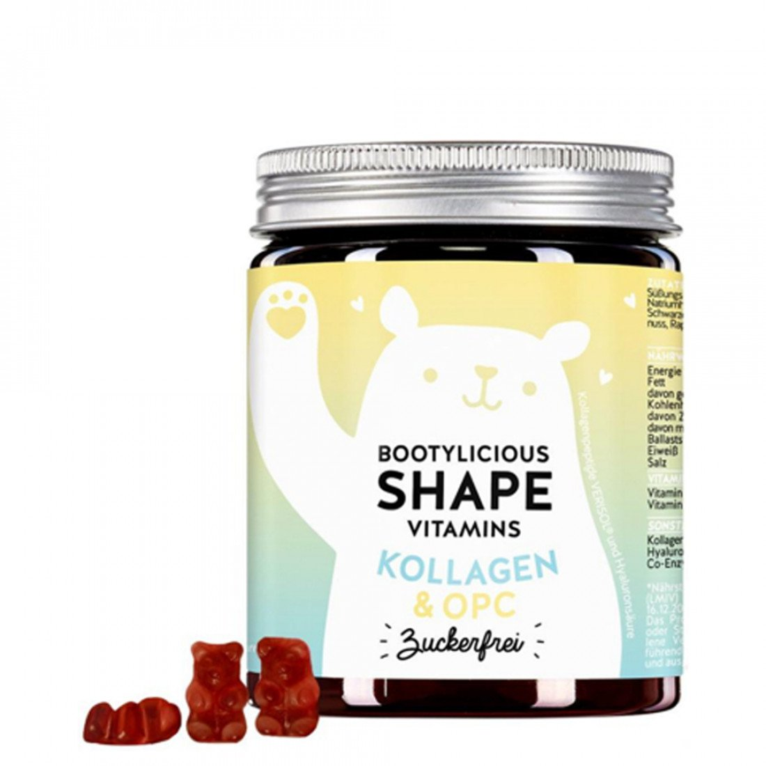 bears with benefits bootylicious shape vitamins 60pcs